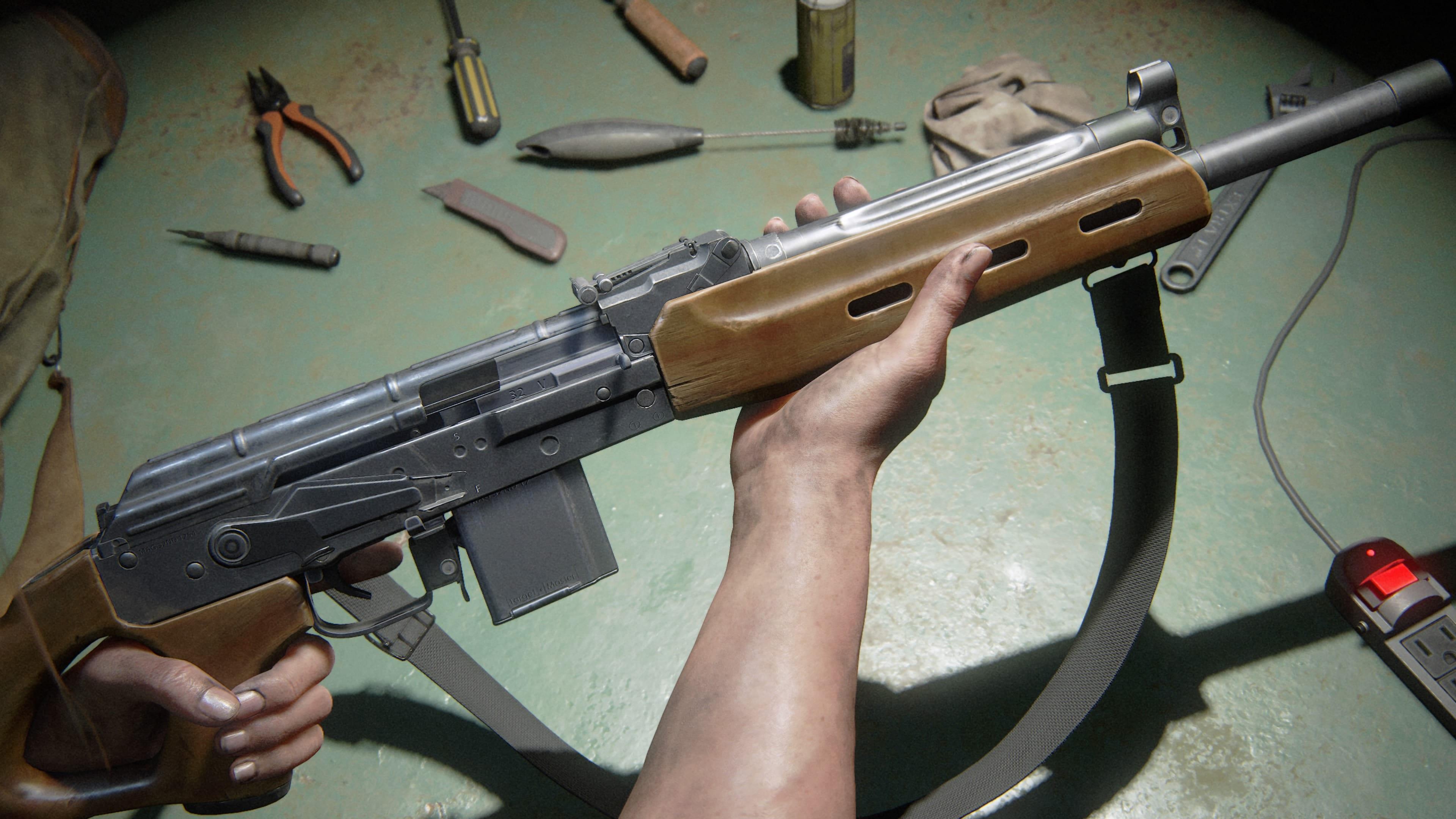 The Last of Us 2 Halbautomatisches Gewehr