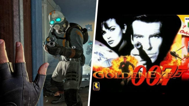 Half-Life Alyx 007 GoldenEye
