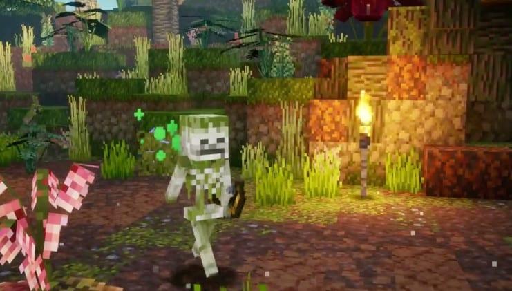 Minecraft Dungeons: Erster DLC Jungle Awakens