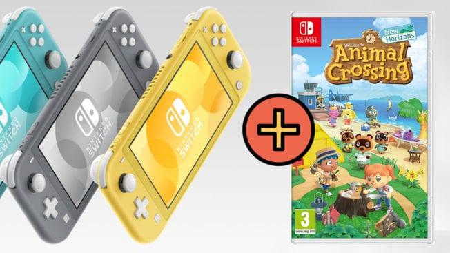 Nintendo Switch Lite Animal Crossing New Horizons