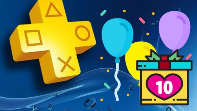 PS Plus 10 Jahre