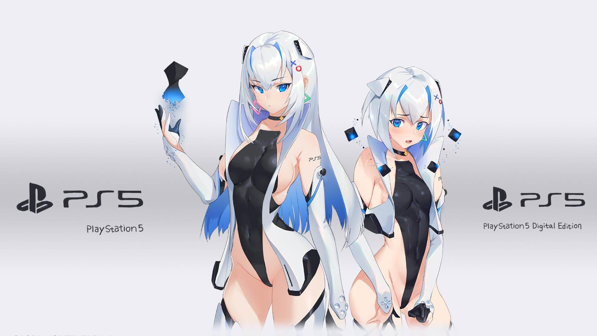 PS5-chan (Bilder, Wallpaper, Screenshots)