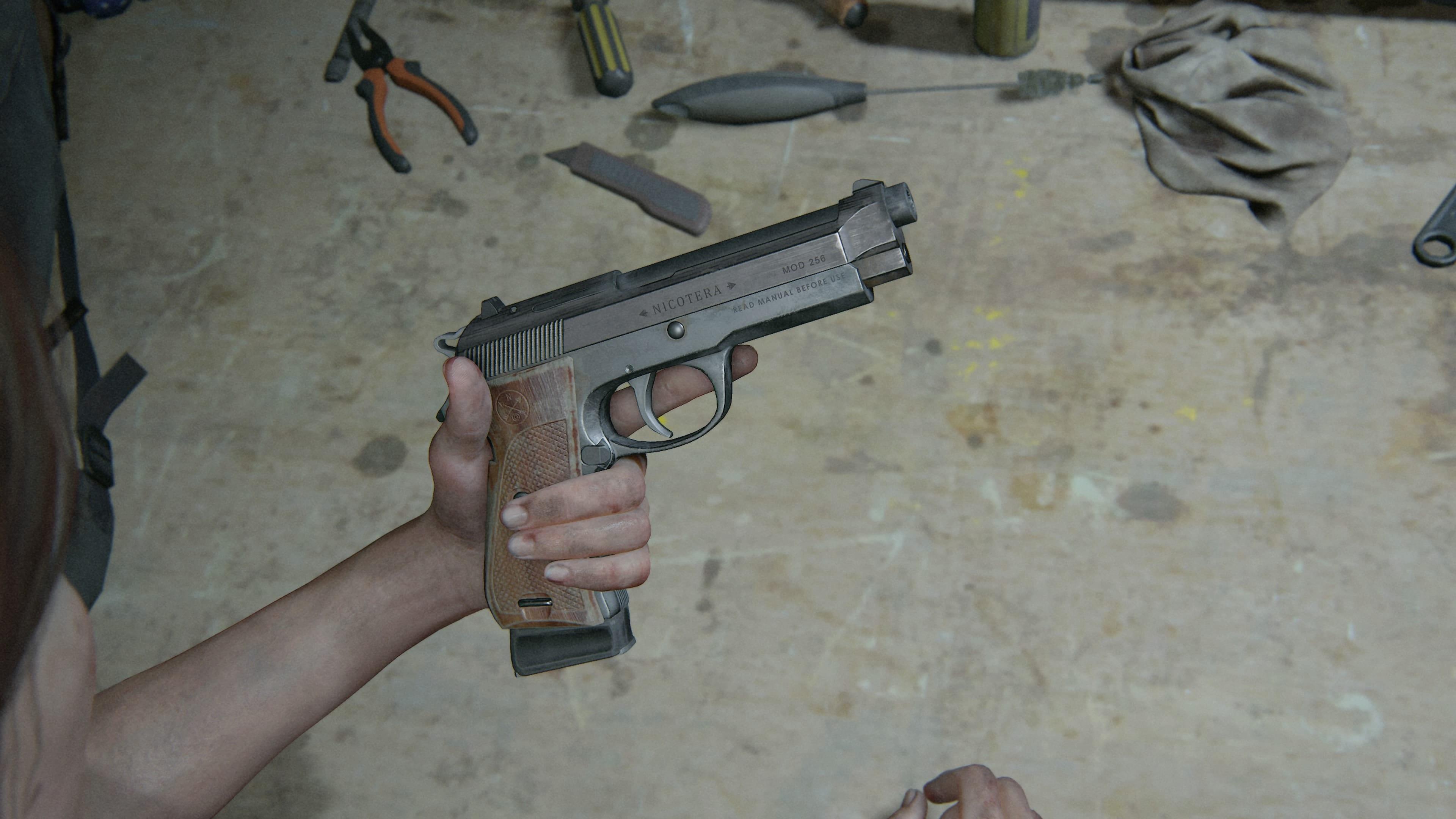 The Last of Us 2 2 Halbautomatische Pistole
