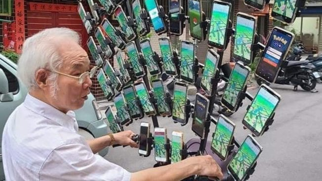 Pokémon Go Onkel Grandpa
