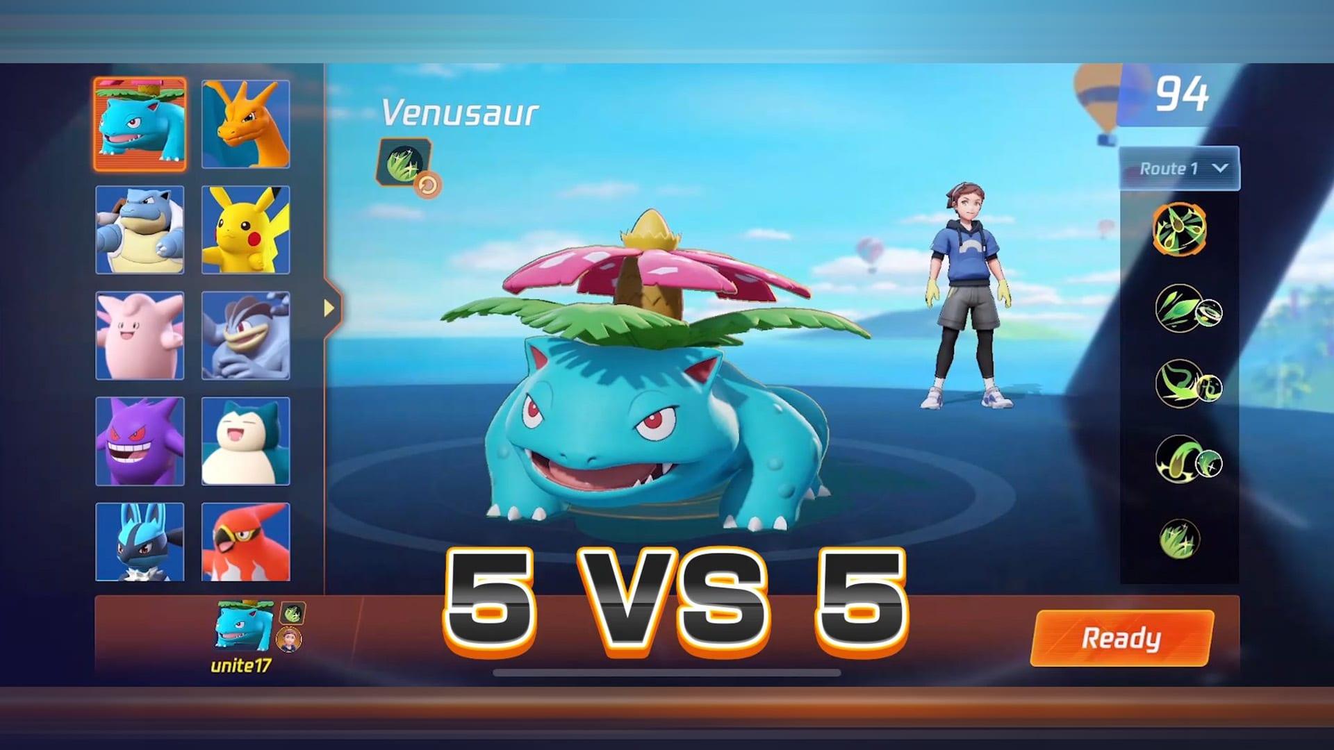 Pokémon Unite 5-vs-5