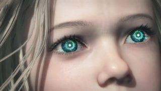 Pragmata Mädchen Augen