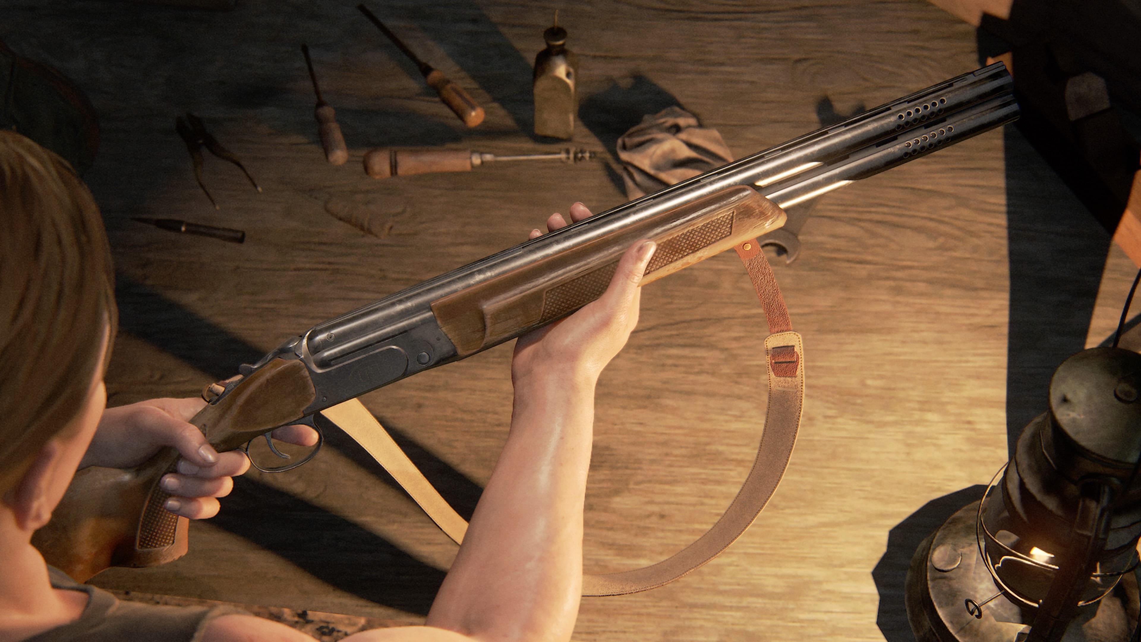 The Last of Us 2 Doppelläufige Schrotflinte
