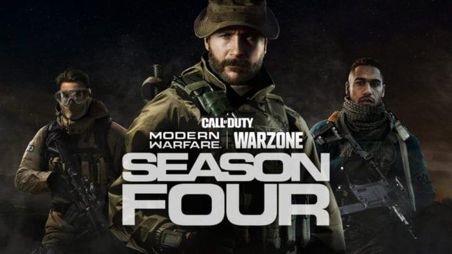 CoD Season 4 Warzone Modern Warfare