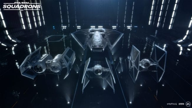 Star Wars Squadrons Raumschiffe Imperium