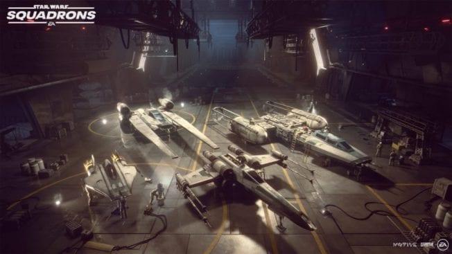 Star Wars Squadrons Raumschiffe Neue Republik