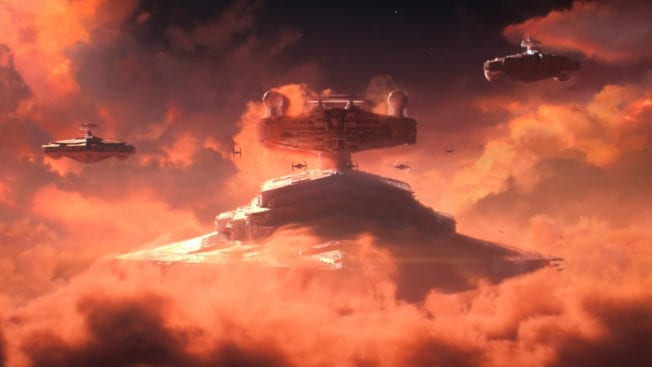Star Wars Squadrons Sternenzerstörer