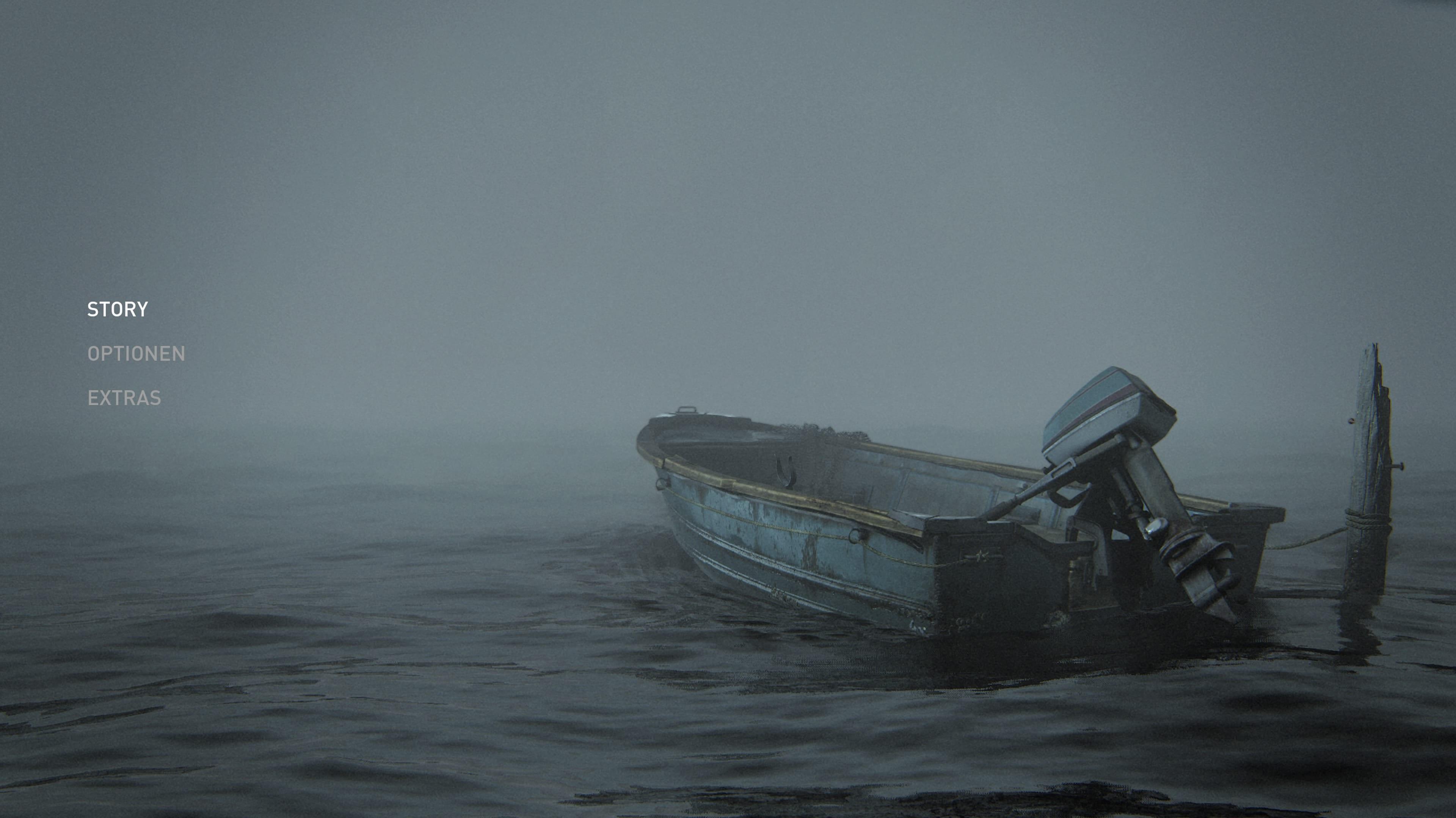 The Last of Us Part II Startbildschirm