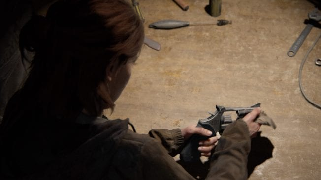 The Last of Us 2 Waffenverbesserung