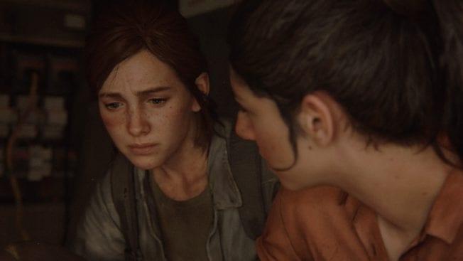 The Last of Us 2 Ellie Dina