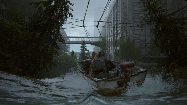 The Last of Us 2 Bootsfahrt