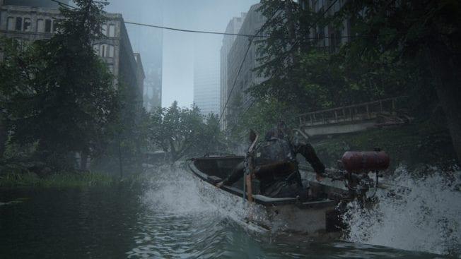 The Last of Us 2 Boot fahren