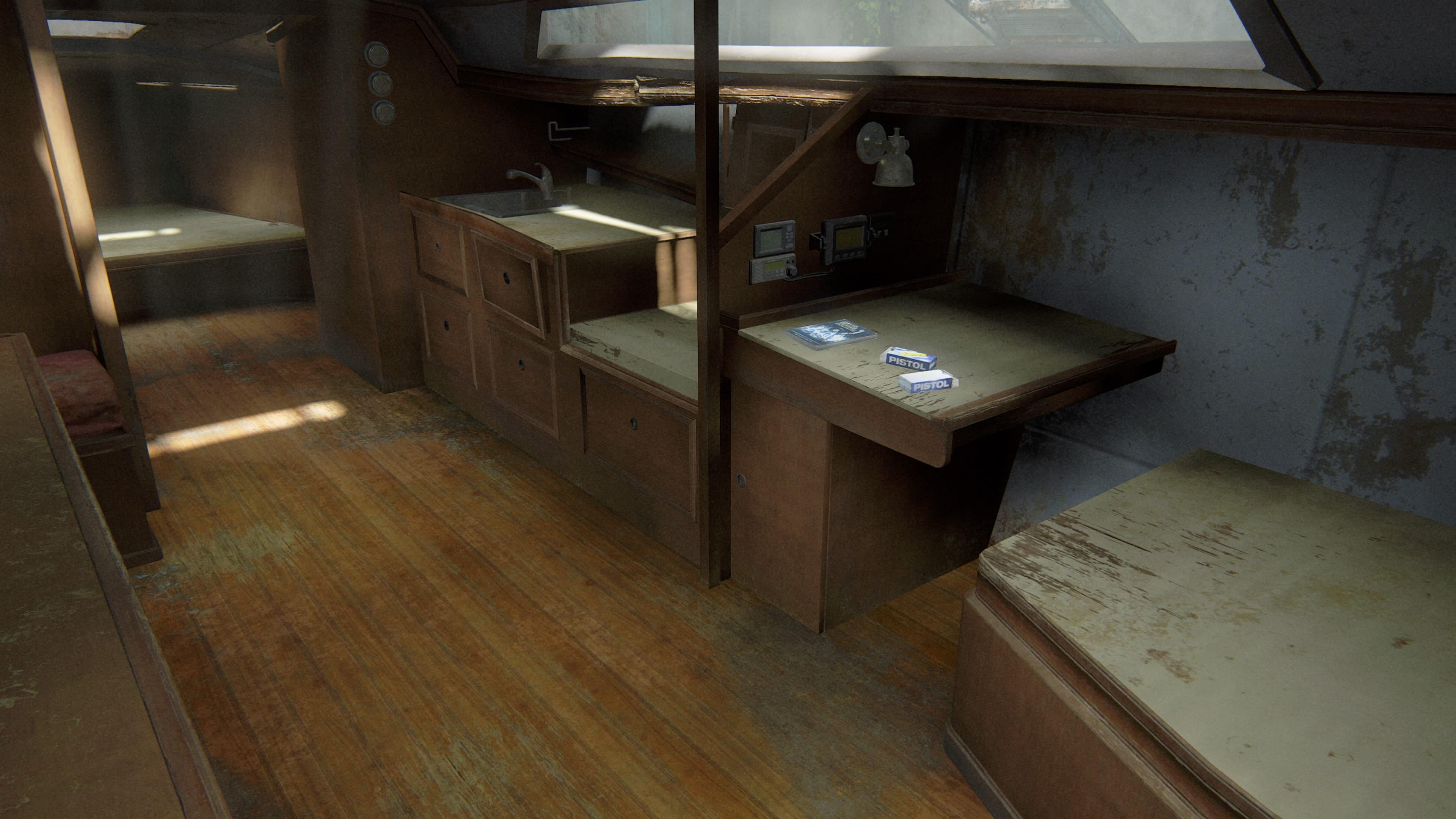 The Last of Us 2 Boot Trainingsbuch Verdeckte Operationen