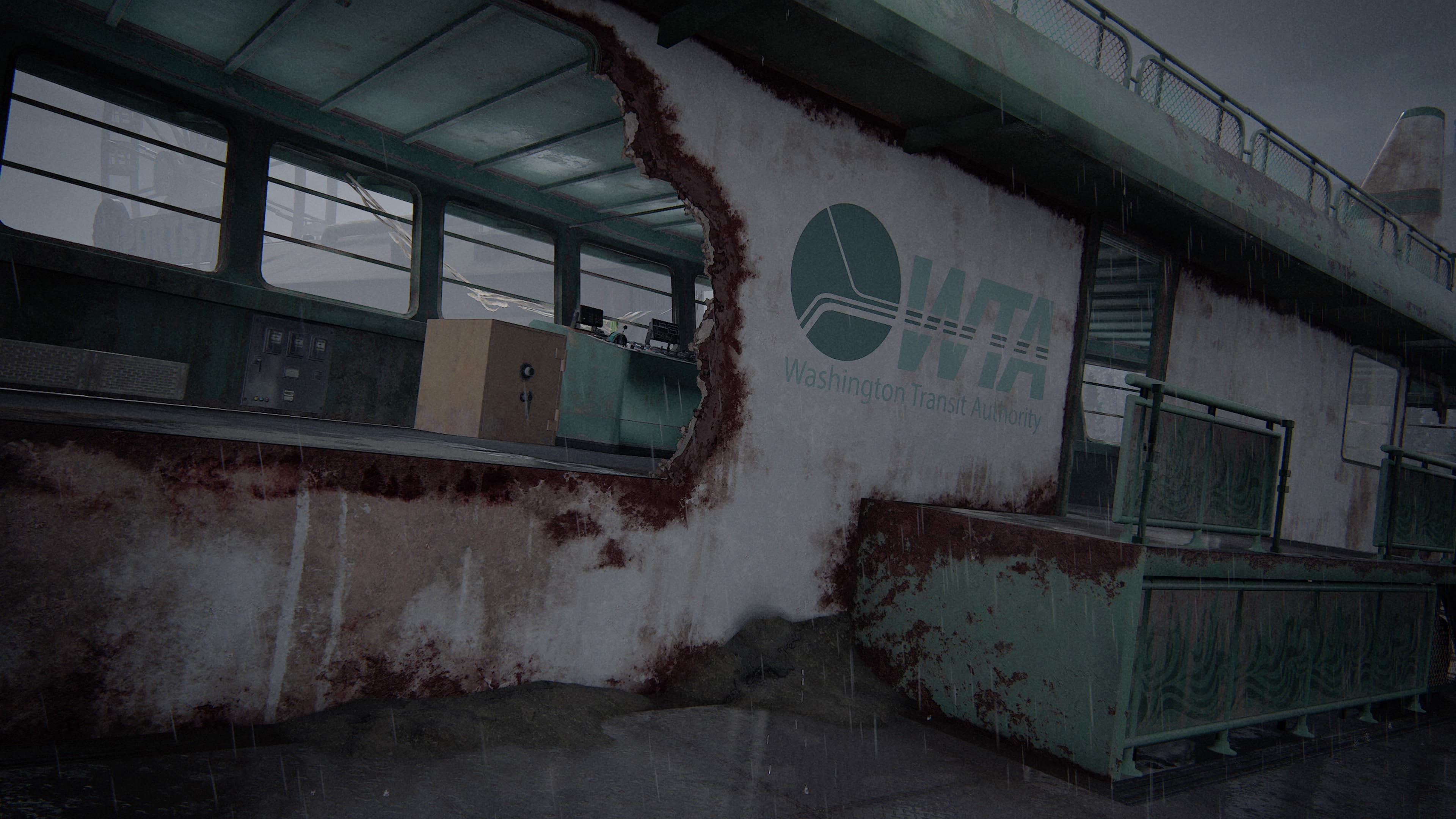 The Last of Us 2 Tresor Schiff