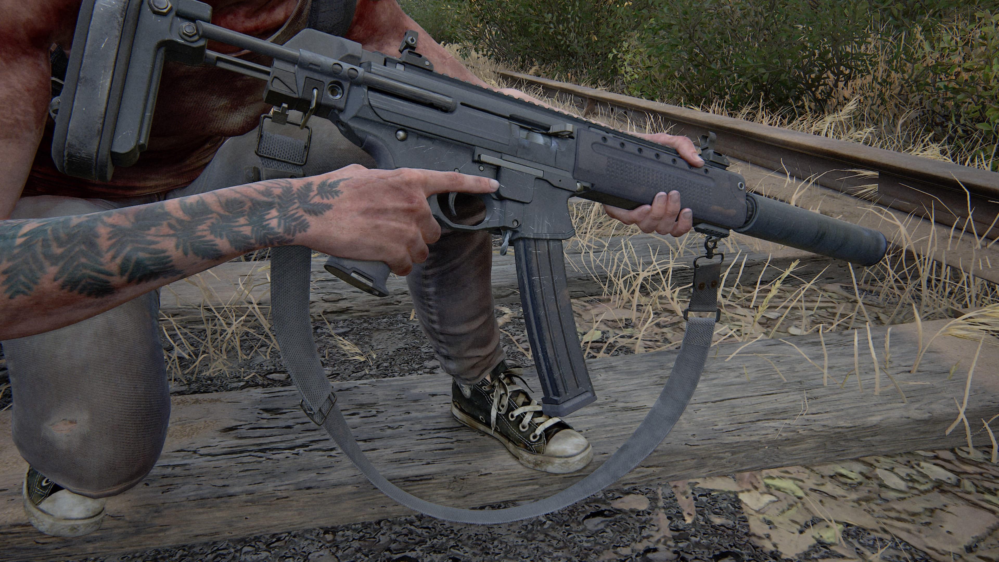 The Last of Us 2 Schallgedämpfte Maschinenpistole