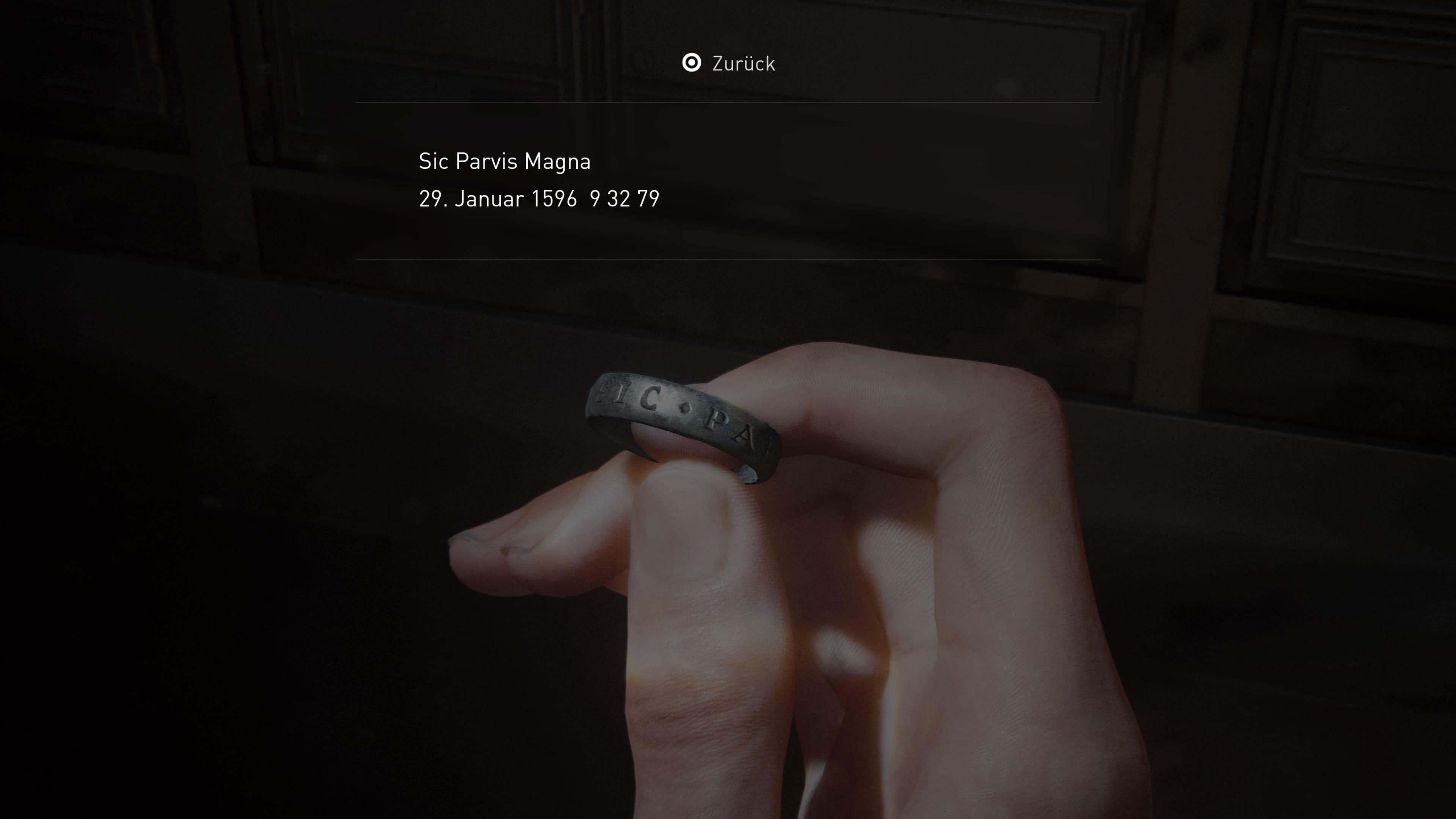 The Last of Us 2 - Antiker Ring