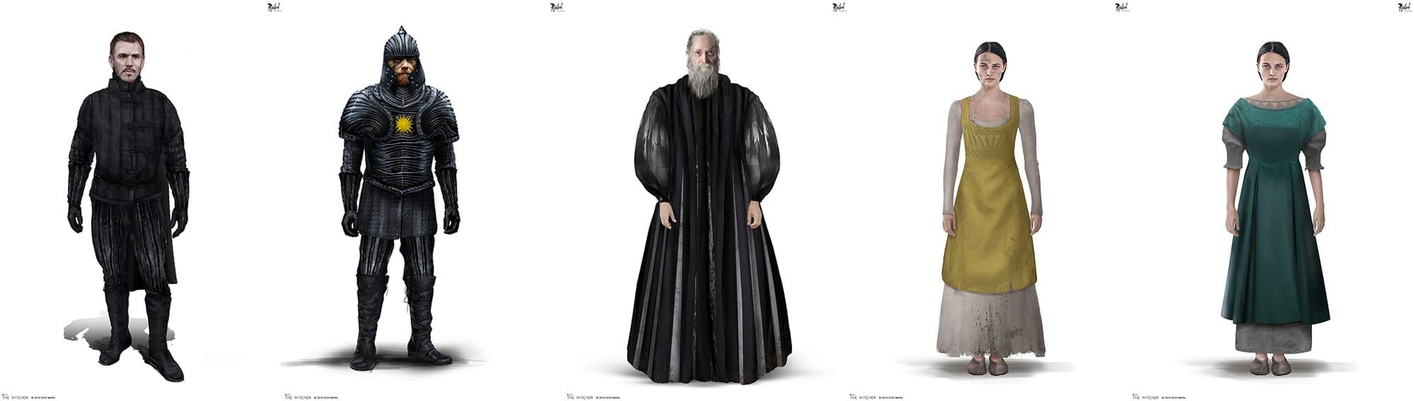 The Witcher Netflix Kostüme