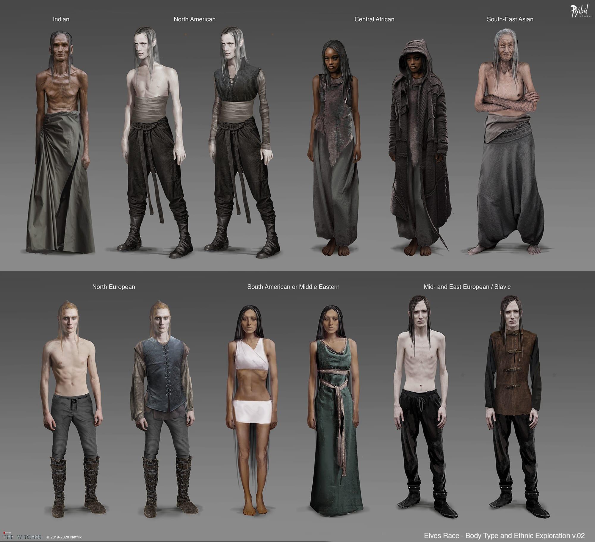 The Witcher Netflix Elfen Kostüm
