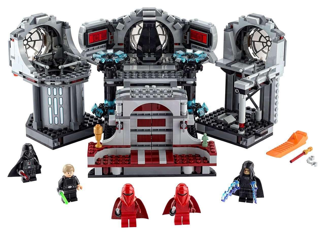 Todesstern Finale Szene Lego Star Wars