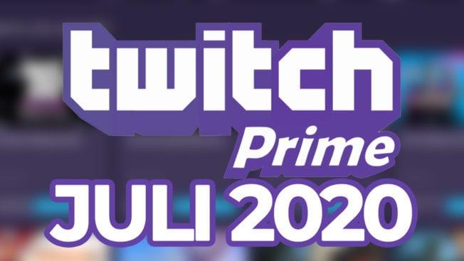 Twitch Prime Games Juli 2020