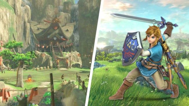 Zelda Breath of the Wild Animal Crossing
