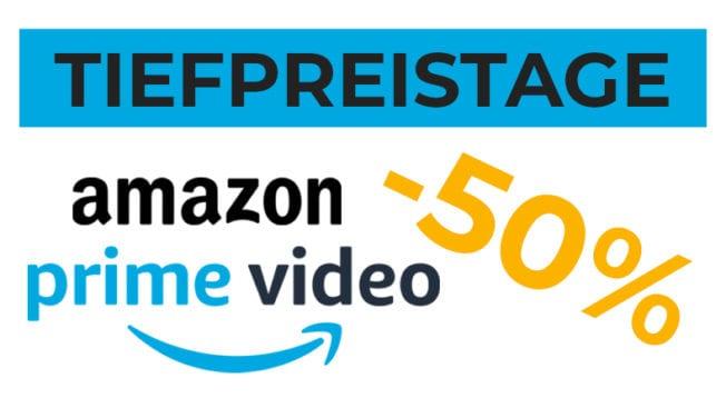 Amazon Prime Video Tiefpreistage