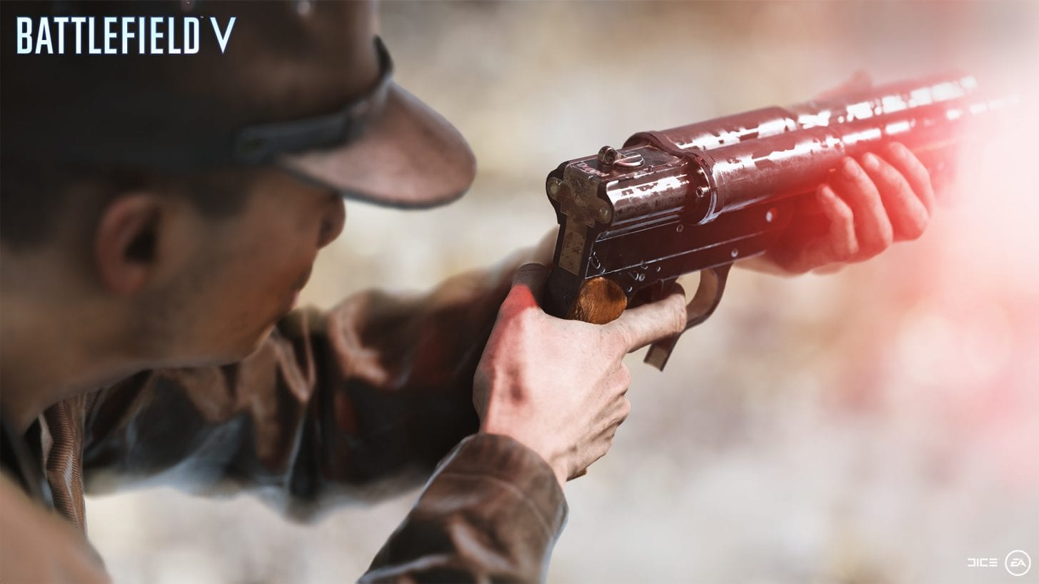 Battlefield 5 Doppelschuss-Signalpistole