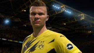 FIFA 21 Spieler Grafik