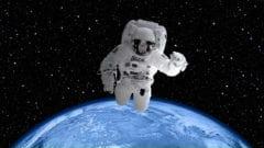 Astronaut im Weltraum