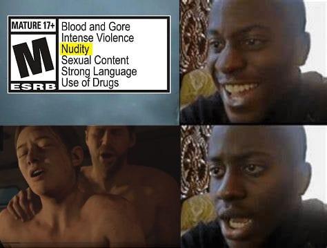 Nudity in The Last of Us 2 Meme