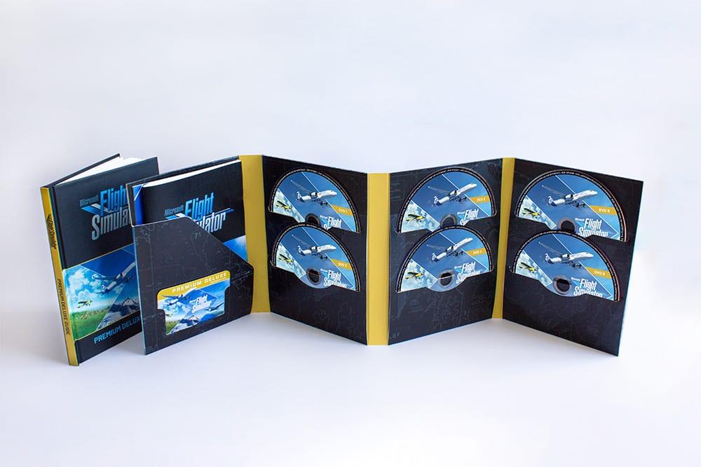 Microsoft Flight Simulator 10 Disks Retail