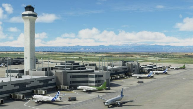 Microsoft Flight Simulator Flughafen