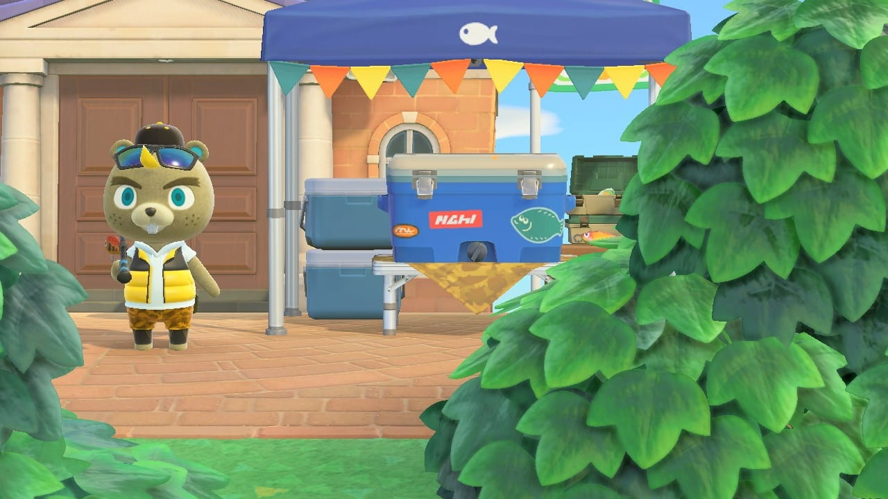 Animal Crossing New Horizons Angelturnier Lomeus