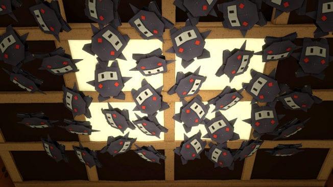 Paper Mario Origami King Ninji