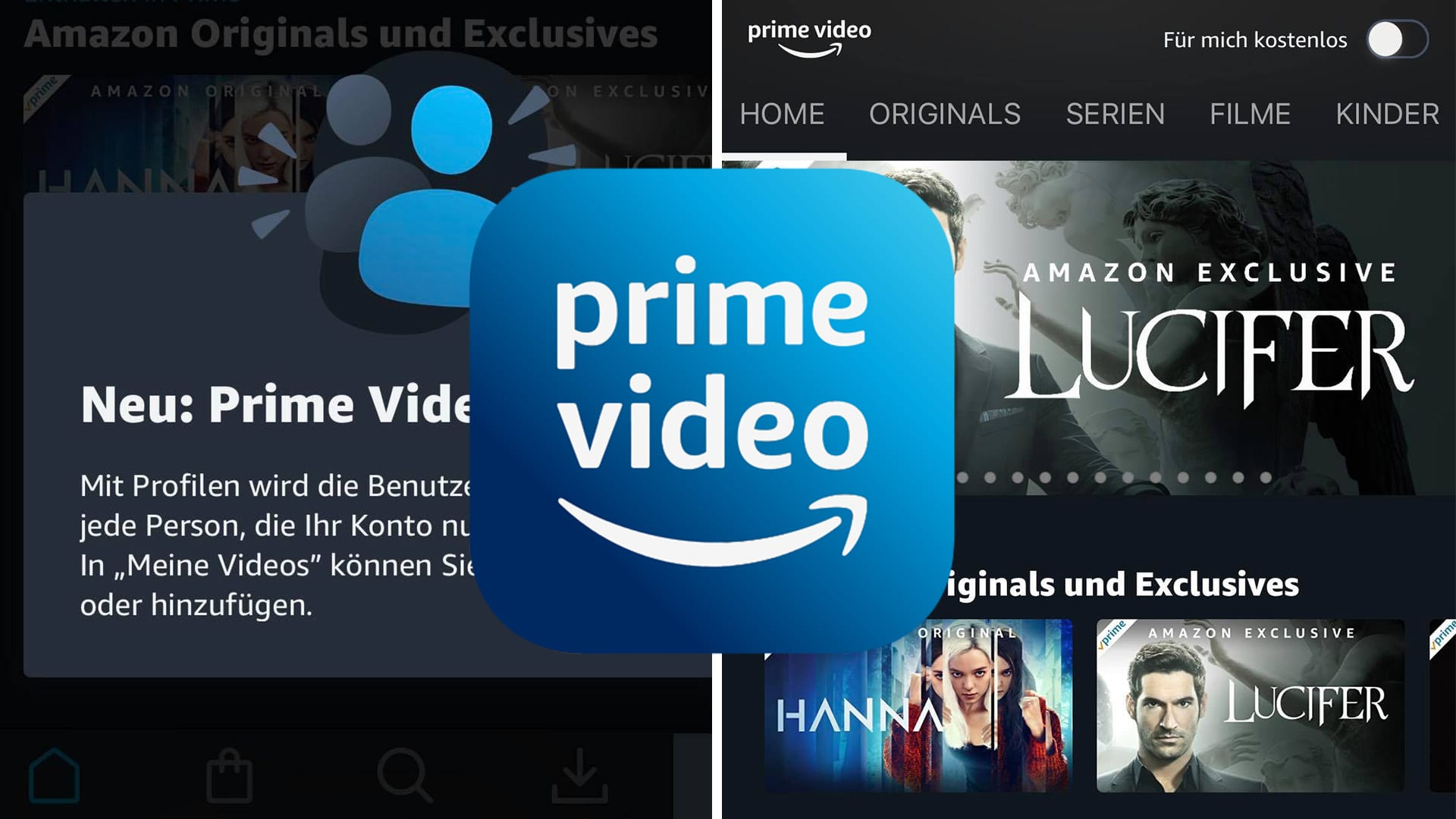 Amazon Prime Video Profile