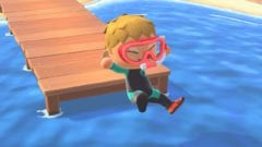 Animal Crossing New Horizons Taucherbrille und Schnorchel