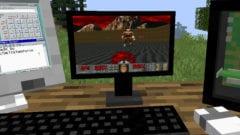 DOOM in Minecraft