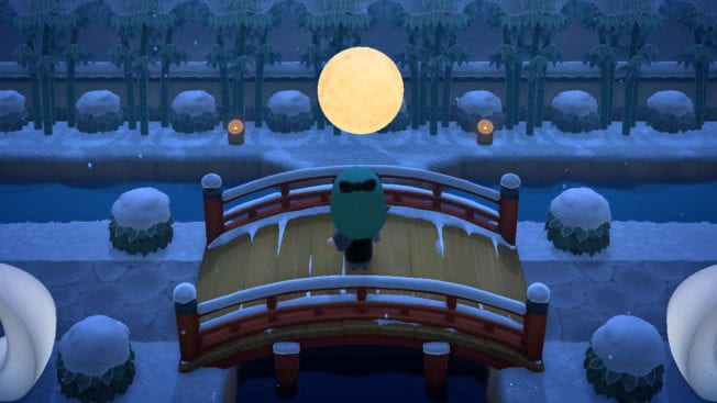 Animal Crossing New Horizons Brücke