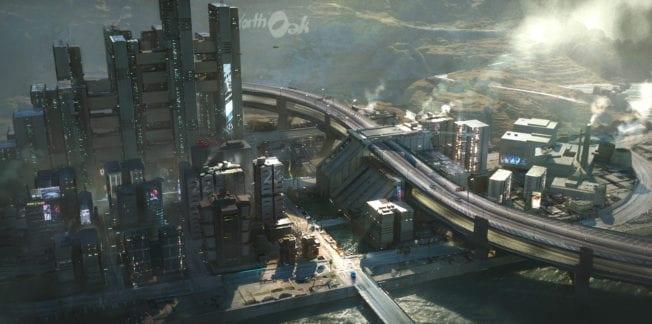 Cyberpunk 2077 Westbrook Industrie