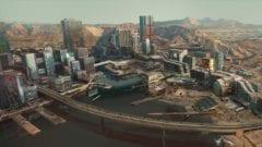 Cyberpunk 2077 Map Karte Spielwelt