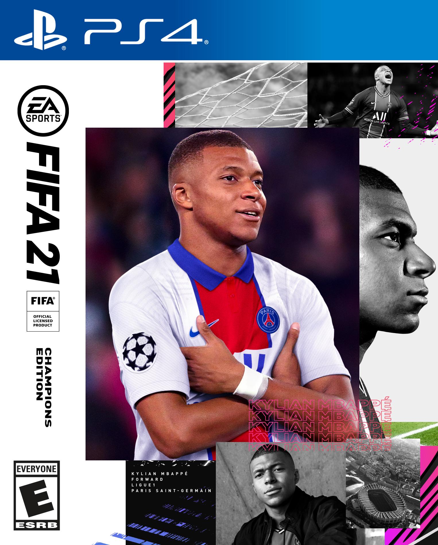FIFA 21 - Offizielle Cover