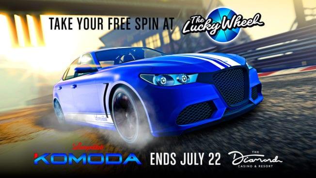 GTA Online - Lucky Wheel