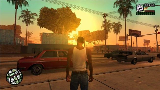 GTA San Andreas - Wetter