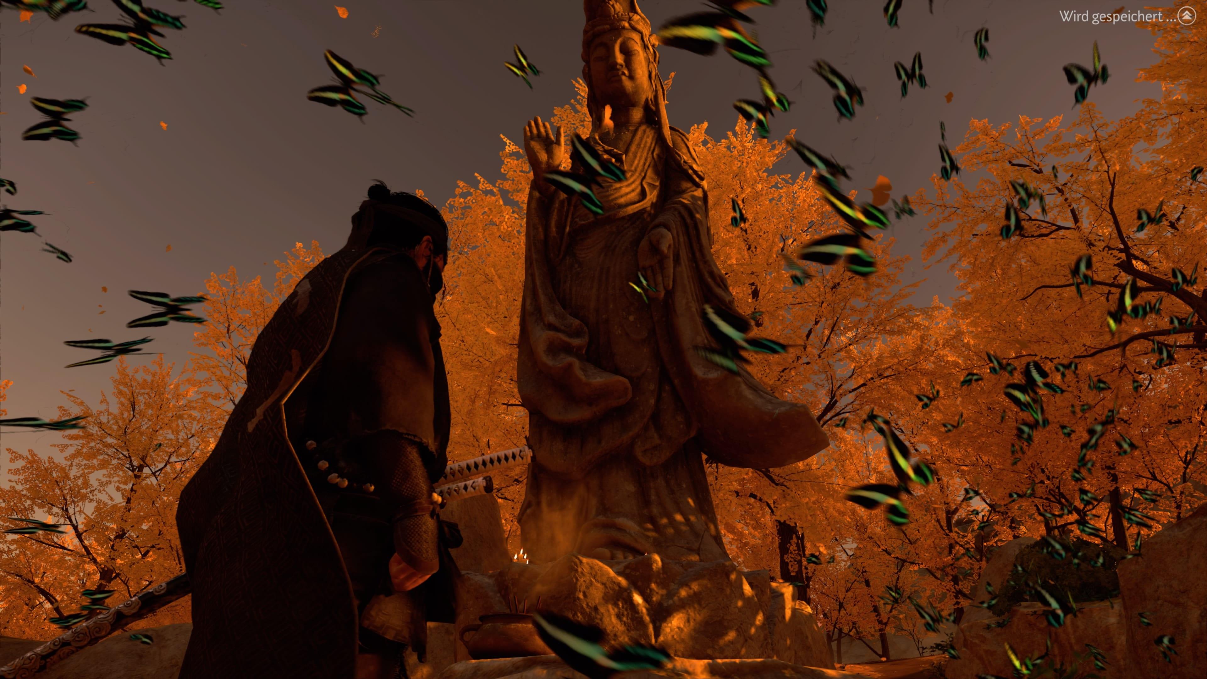 Ghost of Tsushima Geheimer Altar Buddha Goldener Tempel