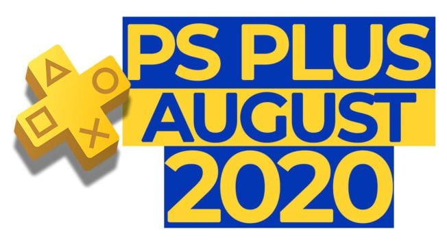 PS Plus August 2020