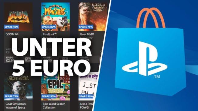PS Store unter 5 Euro